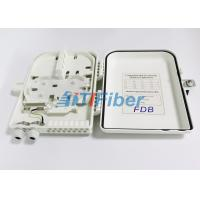 Buy cheap 1x16 PLC Splitter Fibre Optic Termination Box With SC UPC / APC Connectors from wholesalers