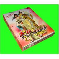 China Custom Printing Paper Card , Playing Paper Game Cards With Box Packaging on sale