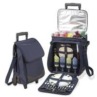 Buy cheap Picnic Cooler Trolley Bag with  Dinnerware product