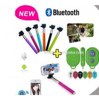 Buy cheap Selfie Stick Monopod Bluetooth Shutter Remote for iPhone / Android product