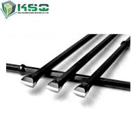 Buy cheap Hex22*108mm Chisel Head Integral Drill Rod Steel Rod Drill Bits from wholesalers