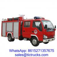 Buy cheap ISUZU 2000L 98HP Fire Fighting Truck 4x2 for sale price $28000 product