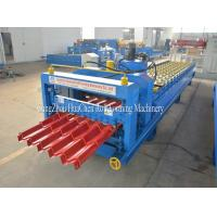Buy cheap Steel Roof Glazed Tile Roll Forming Machine Professional 18 Stations product