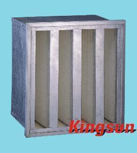 Buy cheap V-Bank HEPA Filter (H13&H14) product