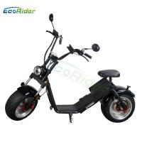 Buy cheap EcoRider EEC certificate 18 inch fat tire caiqiees citycoco with round lamp and mirrors product