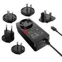 Buy cheap UL Listed 65W Interchangeable Plug PD Power Adapter, 20Volt 3.25A USB C Power Supply product