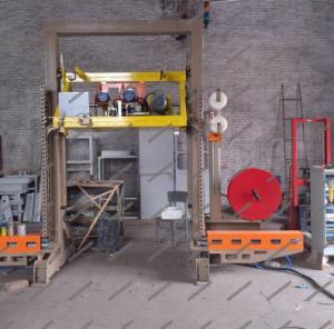 Buy cheap 50HZ W3600 Aerated Brick Horizontal Packing Machine product