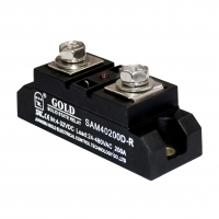 Buy cheap 240v 200a High Frequency Solid State Relay Din Rail Mount product