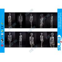 Black PC Full Standing Female Mannequin Real Makeup with Wooden Base