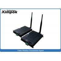 Buy cheap 60km UAV Video Transmitter 8Mhz Ethernet TDD COFDM Transceiver Real-time Two Way from wholesalers
