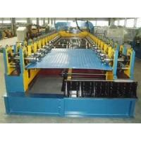 Buy cheap CE / ISO  low noise Roof Panel rolling forming machines for color steel with PLC control from wholesalers