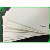 China 0.4MM - 2MM Thickness White Color Perfume Testing Paper Board With Free Sample on sale