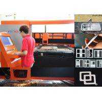 500W 1KW Sheet Metal Laser Cutting Machine , 380V metal cutting cnc machine