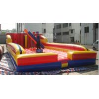 China Amusement Inflatable Gladiator Game Jousting Game For Kids EN15649 on sale