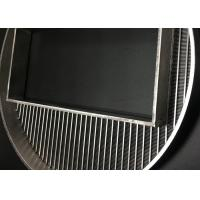 Buy cheap 390 Mm Diameter Wedge Wire Screen Filter Mesh With High Precision Filtering Slot product