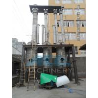 Buy cheap Efficient Water Evaporation Triple Effect Falling Film Thermal Evaporator product