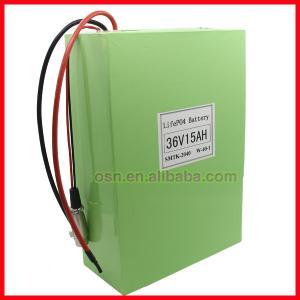 Buy cheap Lifepo4 36V 15AH Battery Pack For E-bike from wholesalers