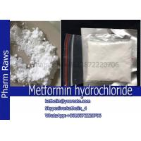 China Metformin hydrochloride For Treatment Of Diabetes CAS:1115-70-4 on sale
