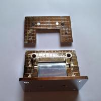 Buy cheap chrome plated zinc alloy shower door hinge product