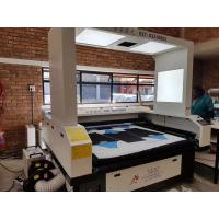 Buy cheap 150 Watts CO2 Vision Laser Cutting Machine For Custom Cycling Jerseys JHX - 180100S product