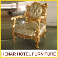 Buy cheap Hotel Luxury Furniture King Throne Chair / Dining Chair / Salon Chair Standard product