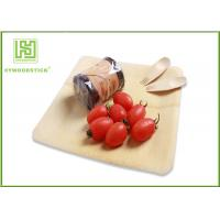 Buy cheap Healthy Bamboo Sushi Plate , Compostable Bamboo Plates And Bowls With Logo product