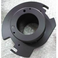 Quality Custom Aluminum 6061-T6 machinery part with matt oxide color, 120# sand blast for sale