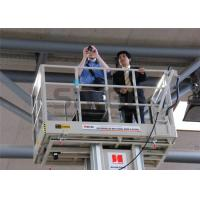 Buy cheap Aluminum Mast Type Self Propelled Aerial Lift 6m For 2 Persons 480KG Capacity product