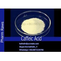 Quality Inhibit Carcinogenesis Powder Caffeic Acid Stop Bleeding Acid CAS: 331-39-5 for sale