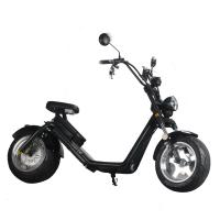 Buy cheap EcoRider Two wheel fat tire caiqiees citycoco electric scooter with EEC certificate product