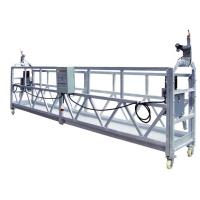 Buy cheap High Working Electric Scaffolding Stage Platform steel with dipping Zinc product