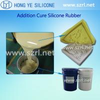 China Addition cure moulding silicone rubber for  artifical stone on sale