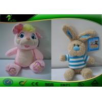 Buy cheap 25cm Tall Colorful CuteStuffed Plush Toys With High Hat / Cute Plush Animals product
