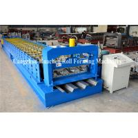 Buy cheap Steel Deck Forming Machine/ Galvanized Floor Decking Roll Forming Machine/ Roof Sheet Floor Tile product