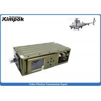 Buy cheap 5 Watt COFDM Video Transmitter Long Range 300 - 500Mhz UAV Video Link with Encryption from wholesalers