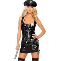 Buy cheap High Quality Halloween Sexy Police Costumes Protect and Serve Police Costume from wholesalers