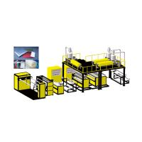 Buy cheap Zhejiang Vinot  High Speed Compound Three Layer Air Bubble Film Machine with Suitable Raw Material : LDPE LLDPE HDPE product