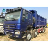 Buy cheap SINOTRUK Euro 2 371HP 8x4 12 Tyre Front Lifting HOWO Tipper Truck from wholesalers