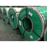 Buy cheap EN 1.4512 Cold Rolled Stainless Steel Strip Coil , AISI 409 Ferritic Martensitic from wholesalers