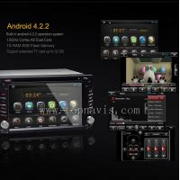 Buy cheap Android 4.2.2 6.2 inch car dvd gps player product