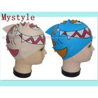 Buy cheap swimming cap for children 3-10 years product