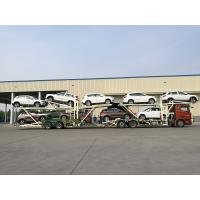 Buy cheap Manual Operating Car Carrier Trailer With Hydraulic Lifting Double - Deck from wholesalers