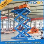 Buy cheap 3T 5M Stationary Hydraulic Scissor Lift product