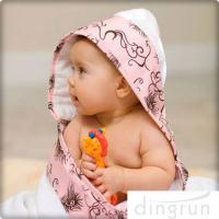 Buy cheap Animal Pattern Personalized Hooded Baby Towels , Toddler Hooded Towels AZO Free product