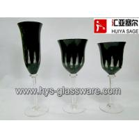 Buy cheap Engraved black glasses, flute red wine white wine glasses, 2014 new style, hot item product