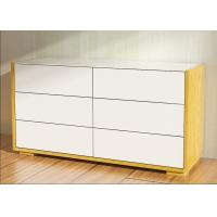 Buy cheap 1.1 Meters Length High Gloss Bedroom Furniture 6 Drawer Chest /Dresser With E1 Board product