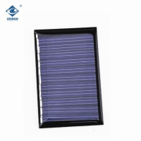 Buy cheap waterproof solar energy panel ZW-5535 Epoxy Resin Solar Panel 5.5V 0.23W used in led solar garden lights product