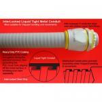 Buy cheap InterLocked Liquid Tight steel Conduit product
