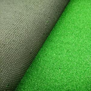 Buy cheap Soccer Indoor Grass Mat / 10mm Pile Waterproof Grass Carpet 0.2mm Width product