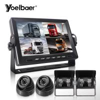 Buy cheap AHD DVR Reverse Camera Monitor DVR Built In LCD Monitor Vehicle Monitor Split Screen product
